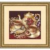 Набор для вышивки Золотое Руно СЖ-023 Чайный дуэт фото
