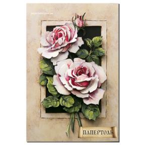 """Картина из бумаги Папертоль РТ150028 """"Винтажные розы"""""""