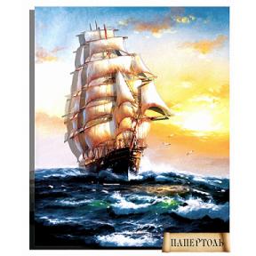 """Картина из бумаги Папертоль РТ150050 """"На всех парусах"""""""