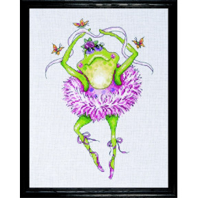 Набор для вышивания Design Works 2757 Frog Danser