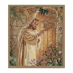 Набор для вышивания Janlynn 1139-81 Christ at Heart's Door