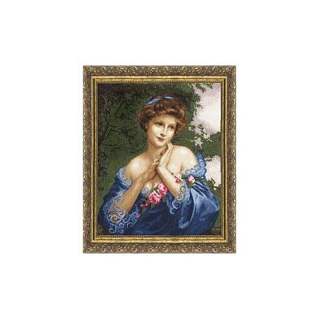 Набор для вышивки Золотое Руно МК-011 Летняя роза фото