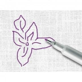 Карандаш маркировочный 9471 фиолетовый для светлых тканей, саморастворяющийся Madeira