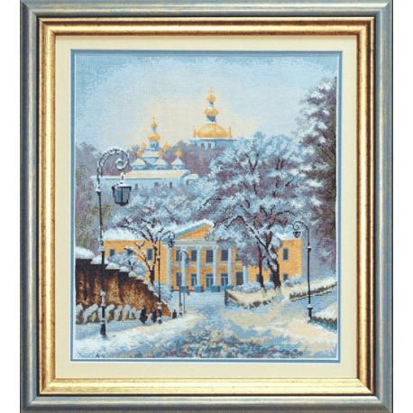 Набор для вышивки крестом Чарівна Мить А-142 Снежная зима фото