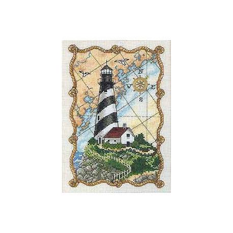 Набор для вышивания крестом Dimensions 06779 Mariner's Light