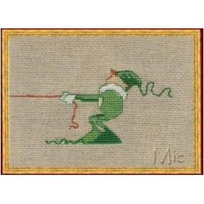 """Набор для вышивания крестом NIMUЁ 14-A0010 К (Aida) """"Mic 3/Мик 3"""""""