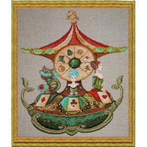 """Набор для вышивания крестом NIMUЁ 102 K """"Le Manège d'Alice/Карусель Алисы"""""""