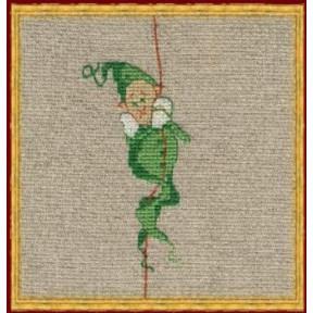 Набор для вышивания крестом NIMUЁ 9-A007 К (Aida) Mac 1/Мак 1