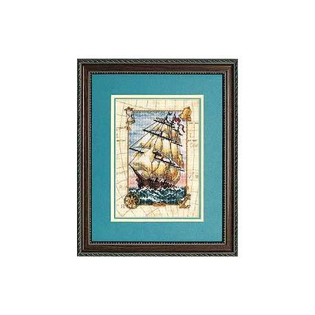 Набор для вышивания крестом Dimensions 06847 Voyage at Sea фото