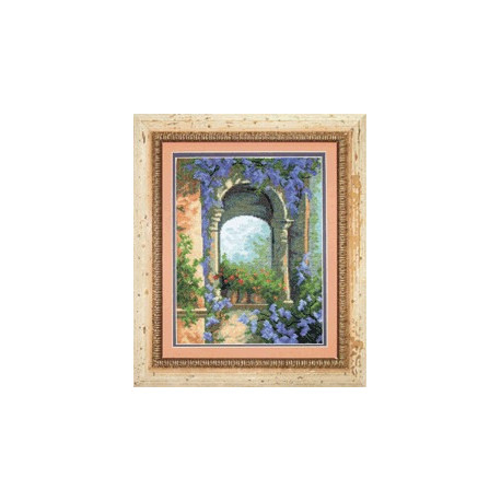 Набор для вышивки крестом Чарівна Мить 457ч Цветочная арка фото