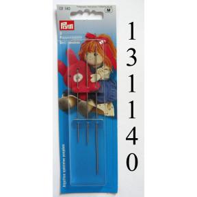 Иглы для шитья кукол сталь  Prym 131140