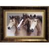 Набор для вышивки крестом Чарівна Мить М-04 Вольные кони фото