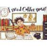 Набор для вышивания Dimensions 65065 I Need Coffe Now фото