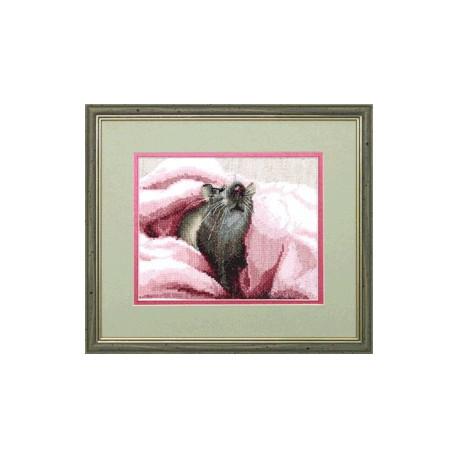 Набор для вышивки крестом Чарівна Мить А-085 Крыска фото