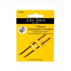 Набор игл для вышивки гладью пряжей (2шт) John James JJ68898