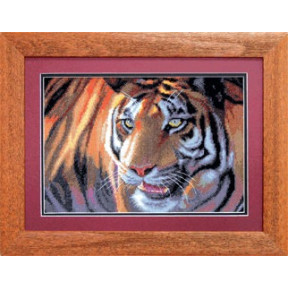 Набор для вышивки крестом Чарівна Мить 469ч Тигр