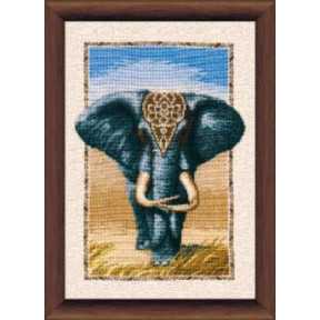 Набор для вышивки крестом Чарівна Мить 289ч Слон