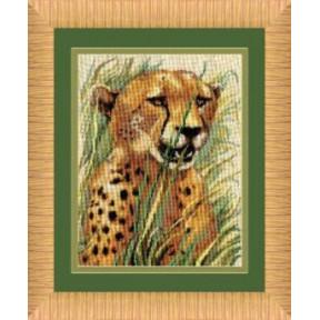 Набор для вышивки крестом Чарівна Мить 267ч Леопард