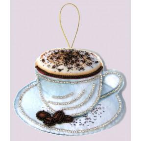 Набор для вышивания бисером Butterfly F 089 Чашка кофе