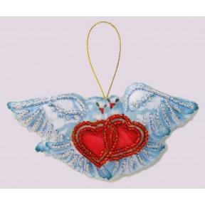 Набор для вышивания бисером Butterfly F 093 Голуби