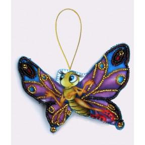 Набор для вышивания бисером Butterfly F009 Бабочка