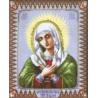 Набор для вышивки Чарівна Мить 400ч Икона Божией Матери