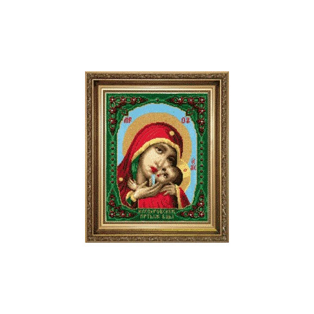 Набор для вышивки Чарівна Мить А-099 Богородица Касперовская