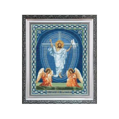 Набор для вышивки Чарівна Мить А-100 Воскрешение Христово фото