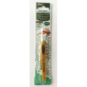 Крючок для вязания №8 0,90мм  1024 Clover (Япония)