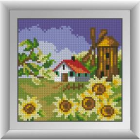 Набор для рисования камнями Dream Art. 30678 Мельница с