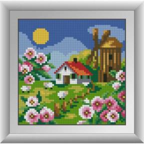 Набор для рисования камнями Dream Art. 30677 Мельница с