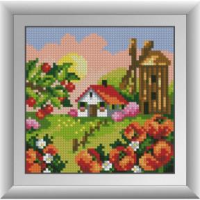 Набор для рисования камнями Dream Art. 30676 Мельница с маками