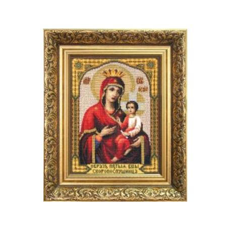 Набор для вышивки Чарівна Мить 473ч Божия Матерь