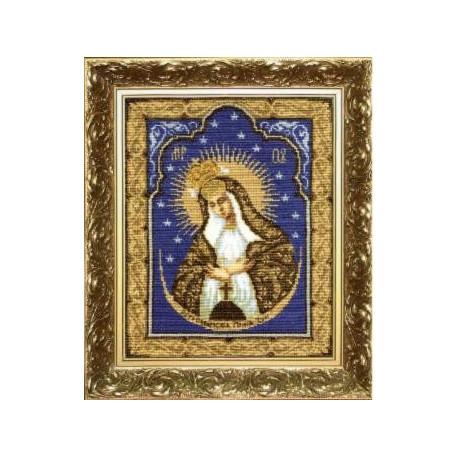 Набор для вышивки крестом Чарівна Мить 399ч Богородица