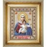 Набор для вышивки крестом Чарівна Мить364ч Икона Божией Матери