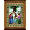 Набор для вышивки Чарівна Мить 344ч Икона Пресвятой Троицы фото
