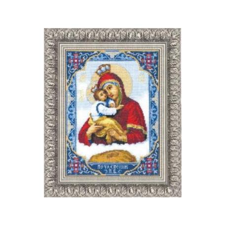 Набор для вышивки Чарівна Мить 325ч Икона Богородицы Почаевской