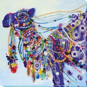 Набор для вышивки бисером на холсте Абрис Арт АВ-621 «Верблюд»