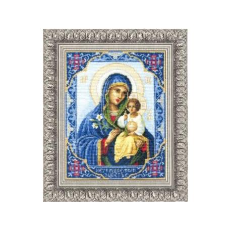 Набор для вышивки Чарівна Мить 314ч Богородица Неувядаемый Цвет