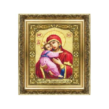 Набор для вышивки крестом Чарівна Мить 255ч Богородица