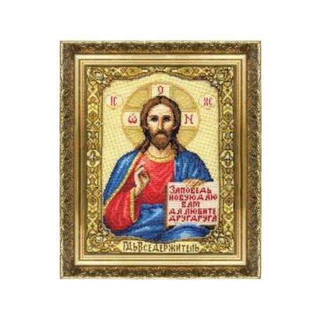 Набор для вышивки крестом Чарівна Мить 254ч Икона Господа