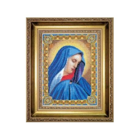 Набор для вышивки Чарівна Мить 461ч Божия Матерь Скорбящая фото