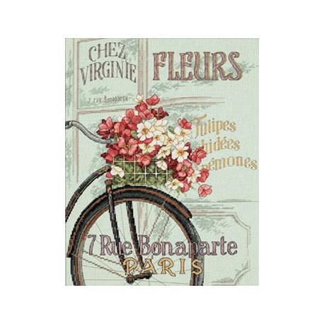 Набор для вышивания Dimensions 35195 Parisian Bicycle фото
