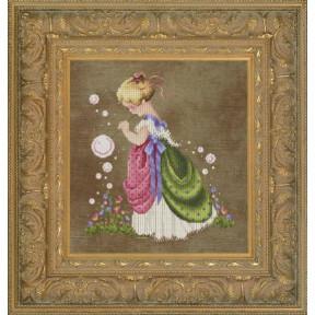 Схема для вышивания  Lavender Lace LL63  Isabella's Garden