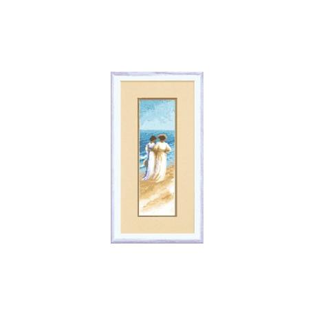 Набор для вышивки крестом Чарівна Мить А-112 Прогулка у моря