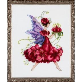 """Схема для вышивания """"Geranium//Герань"""" Nora Corbett NC198"""