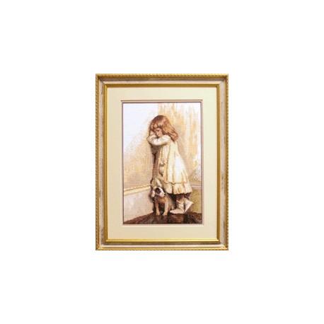 Набор для вышивки крестом Чарівна Мить 471ч Лучший друг фото