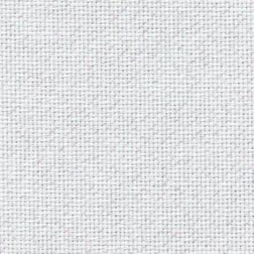 Ткань для вышивания 3793/11 Fein-Aida 18 (36х46см) белый с радужным люрексом