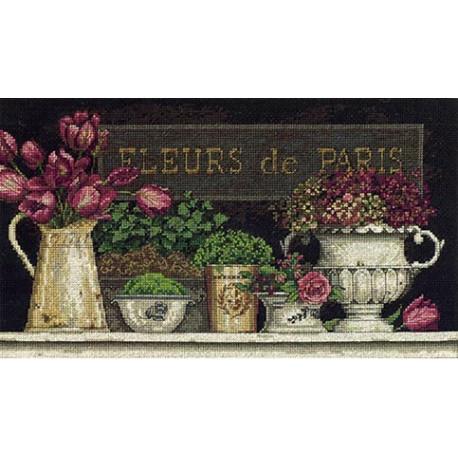 Набор для вышивания Dimensions 35093 Fleurs de Paris фото