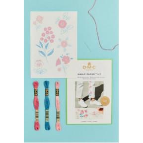 Набор для вышивания крестом DMC FK101 Flower collection